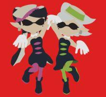 Callie & Marie (Pink) - Splatoon One Piece - Short Sleeve