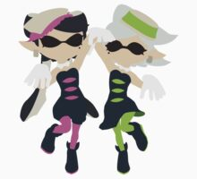 Callie & Marie (Pink) - Splatoon Kids Tee