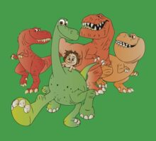 A Crew of Good Dinos One Piece - Short Sleeve