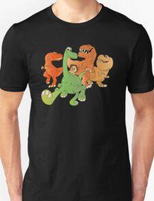 A Crew of Good Dinos Unisex T-Shirt