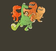 A Crew of Good Dinos Unisex T-Shirt