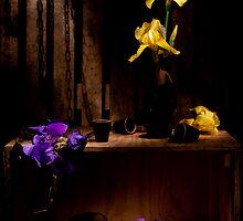 Treasure Iris Still life by Ondřej Smolka