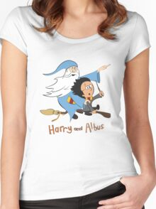 Harry and Albus Women's Fitted Scoop T-Shirt