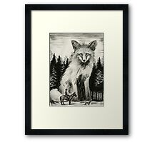 Foxhunter Framed Print