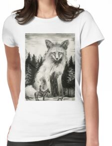 Foxhunter Womens Fitted T-Shirt