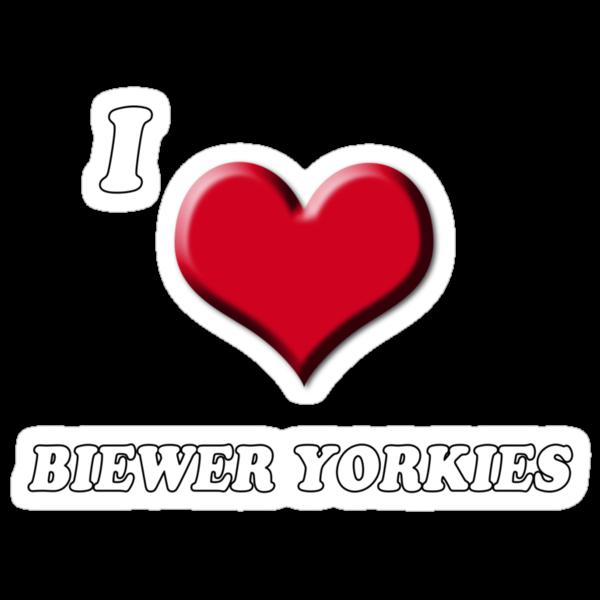 I love Biewer Yorkies by BrightBrownEyes