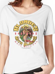 blondes with blades Women's Relaxed Fit T-Shirt