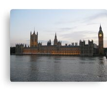 Westminster Palace - The Houses of Parliament Canvas Print