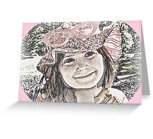 Pinky Cute Greeting Card