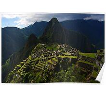 The Lost City - Machu Picchu, Peru Poster
