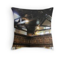 Kilbirnie Auld Kirk interior 1 Throw Pillow