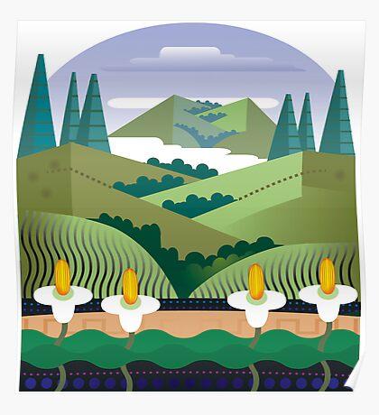 Marin Headlands Poster