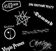Goth Band Logos pt2 by JoanaShino