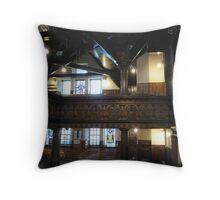 Kilbirnie Auld Kirk interior 6 Throw Pillow