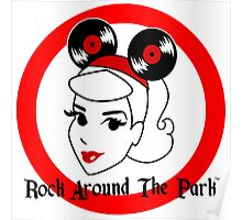 Official Rock Around The Park Merch Poster