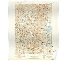 USGS Topo Map Oregon Waldo Lake 283280 1925 125000 Poster