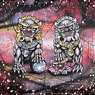 Fu Lions  by Jose Gomez