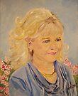 Barbara's Friend Linda by Jim Phillips