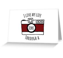 Photographer's Life Greeting Card