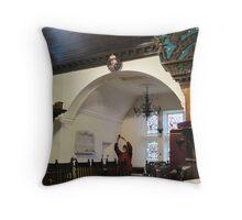 Kilbirnie Auld Kirk interior 11 Throw Pillow