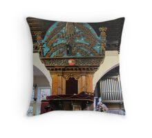 Kilbirnie Auld Kirk interior 12 Throw Pillow