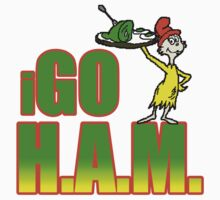 I Go Ham T-shirt by PAGraphics