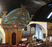 Kilbirnie Auld Kirk interior 14 by Ray Vaughan