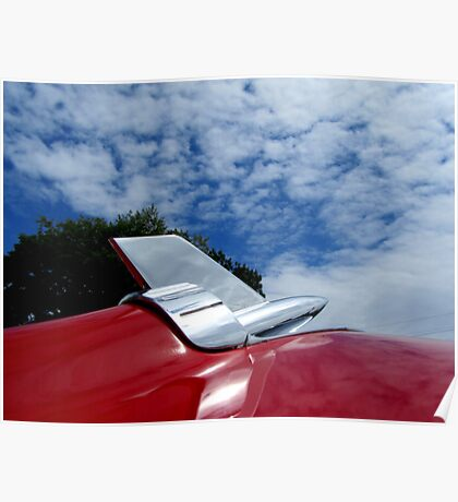 1957 Chevy Hood Ornament Poster