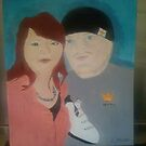 portrait of two young lovers by lisa martin