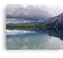 Middle Waterton Lake Canvas Print