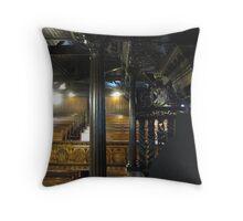 Kilbirnie Auld Kirk interior 18 Throw Pillow