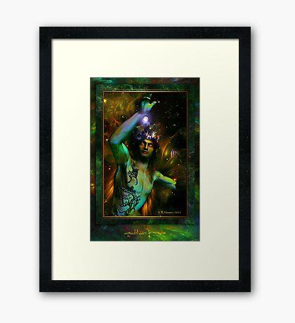Gryffyn ap Llyr Framed Print