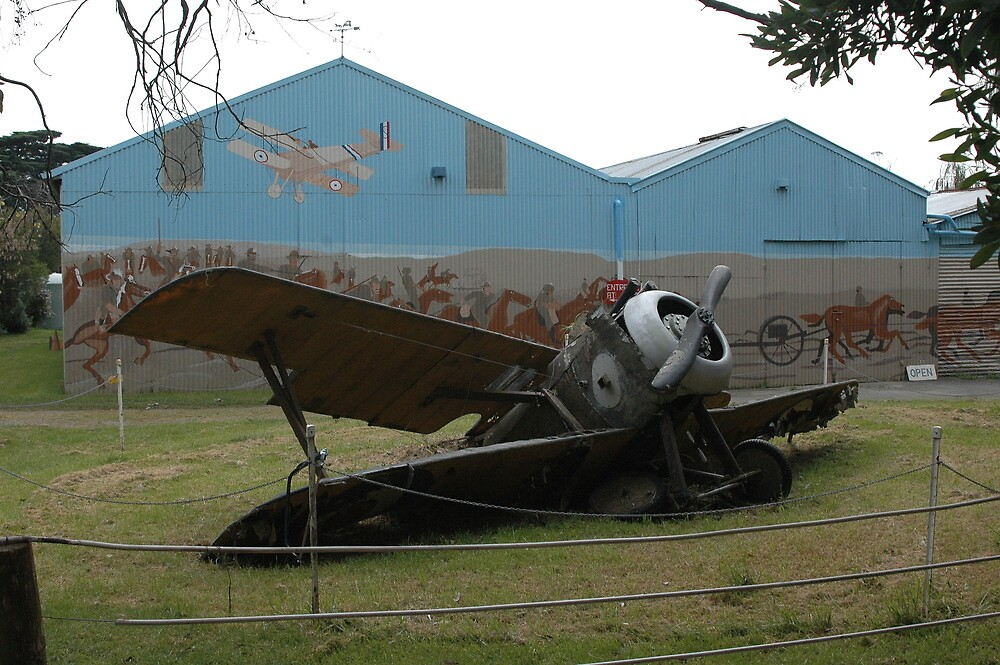 Sopwith Camel Crash? by muz2142