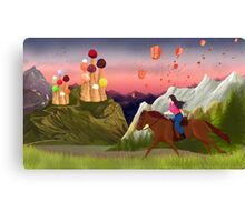 The Tales of The Ice Cream Castle Canvas Print