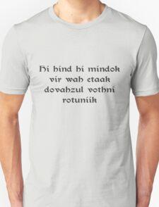 Dovahzul T-Shirt