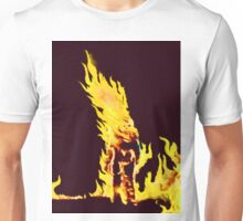 BURNING MAN (Flames) Unisex T-Shirt
