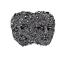 Gross Face Photographic Print
