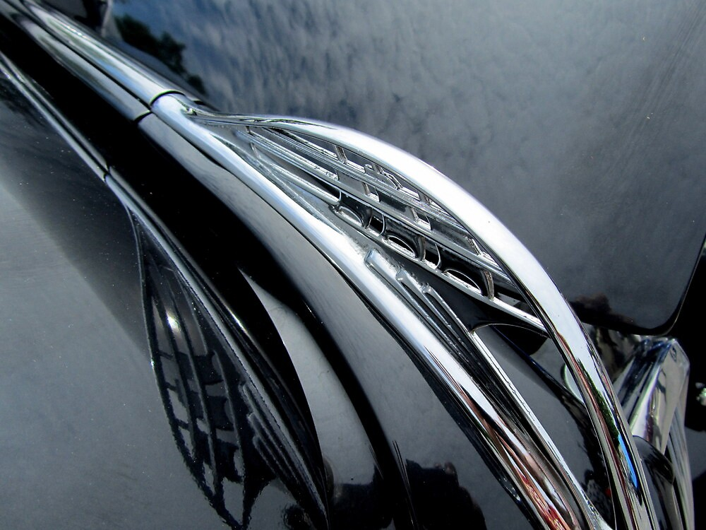 37 Plymouth Coupe Hood Ornament by Debbie Robbins