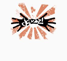 Jazz Hands - Orange and Black T-Shirt