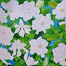 Hawaiian Gardenias by joeyartist