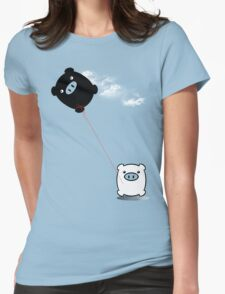 TWINPIGS KITE  Womens Fitted T-Shirt