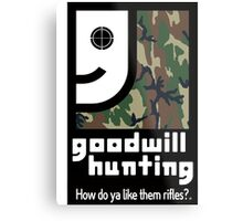 Goodwill Hunting Metal Print