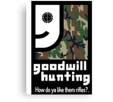 Goodwill Hunting Canvas Print