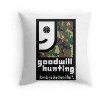 Goodwill Hunting Throw Pillow