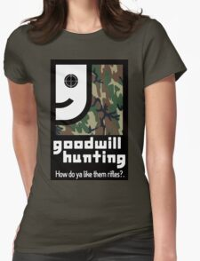 Goodwill Hunting Womens Fitted T-Shirt