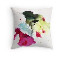 Abstract Painting Nº 01  Throw Pillow