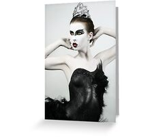 Black Swan II Greeting Card