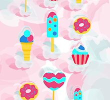 Sweets for a happy day by Anastasia Yatskaya