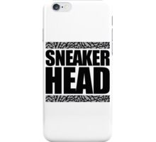 Sneakerhead -Black Out Cement iPhone Case/Skin