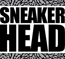 Sneakerhead -Black Out Cement by tee4daily